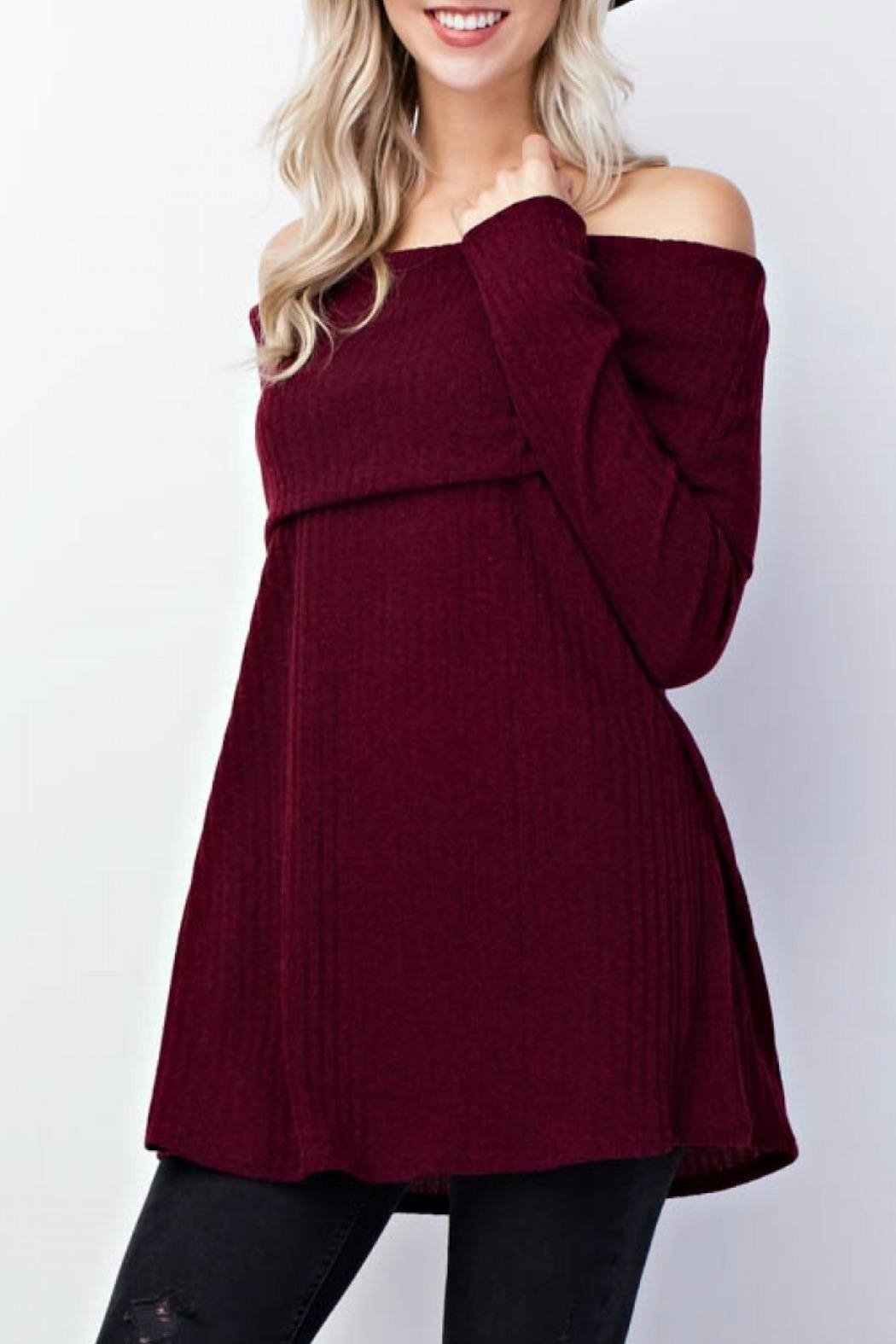 Mittoshop Tami Ribbed Sweater - Side Cropped Image