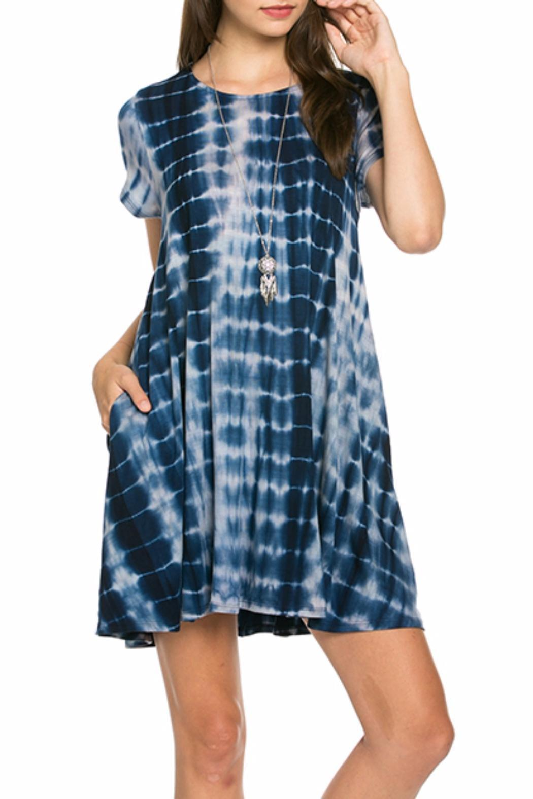 Mittoshop Tie Dye Swing Dress