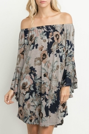 Mittoshop Together Floral Dress - Front cropped
