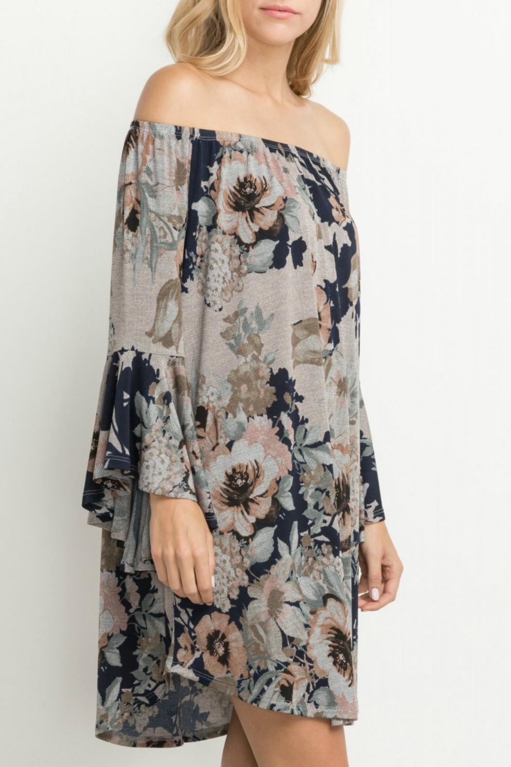 Mittoshop Together Floral Dress - Side Cropped Image