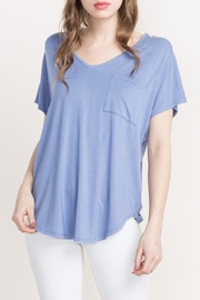 Mittoshop V Neck Pocket Tee - Product Mini Image
