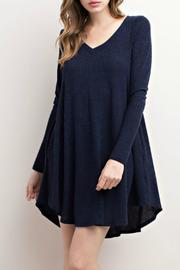 Mittoshop V Neck Sweater Dress - Product Mini Image