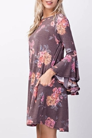 Mittoshop Vintage Floral Dress - Front full body