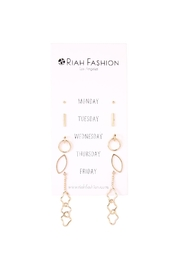 Riah Fashion Mix-And-Match Cute Earring-Set - Product Mini Image