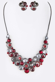 Nadya's Closet Mix Crystal Statement-Necklace - Product Mini Image
