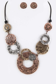 Nadya's Closet Mix Disks Necklace-Set - Product Mini Image