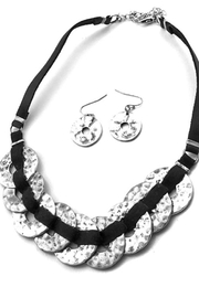 Night Queen Mix Metal Necklace - Front cropped
