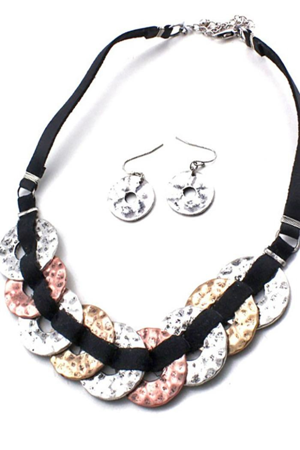 Night Queen Mix Metal Necklace - Main Image