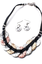 Night Queen Mix Metal Necklace - Product Mini Image