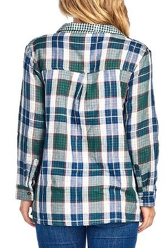 BD Collection Mix Plaid Shirt - Alternate List Image