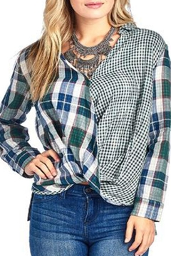 BD Collection Mix Plaid Shirt - Product List Image