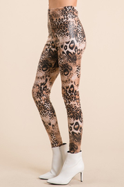 Ces Femme  Mixed Animal Print Legging - Other