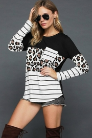 Towne Mixed Animal Tee - Front full body