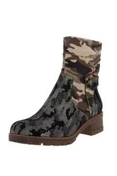 Spring Footwear Mixed Cammo Bootie - Product List Image