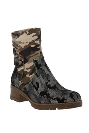 Spring Footwear Mixed Cammo Bootie - Product Mini Image