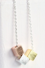 Pink Poodle Boutique Mixed Cubes Necklace - Product Mini Image