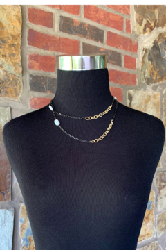 LuLuLisa Mixed Metal and Pearl Chain - Alternate List Image