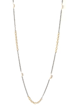 LuLuLisa Mixed Metal and Pearl Chain - Product List Image