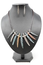 Nadya's Closet Mixed Metals Necklace-Set - Product Mini Image