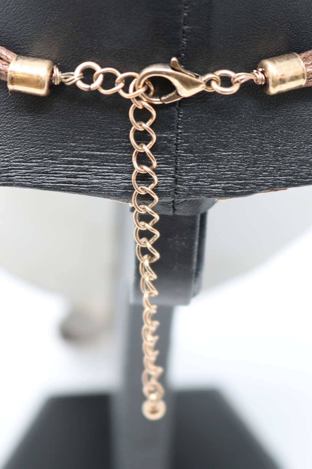 Nadya's Closet Mixed Metals Pendant-Necklace - Side Cropped Image