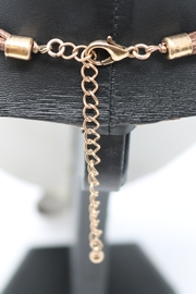 Nadya's Closet Mixed Metals Pendant-Necklace - Side cropped