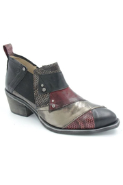 Casta Mixed Patchwork Bootie - Front cropped