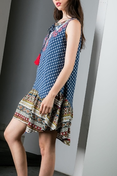 THML Clothing Mixed Print Dress - Alternate List Image