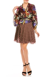 cq by cq Mixed Print Dress - Front full body