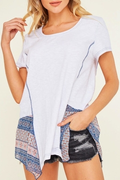 Miss Darlin Mixed Print Top - Product List Image