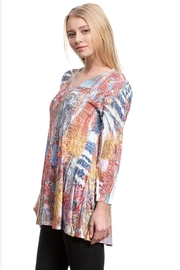 Katina Marie Mixed Print Tunic - Product Mini Image