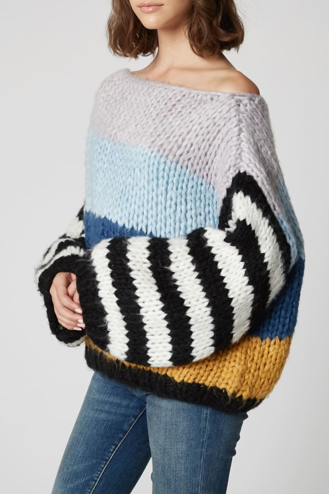 Blank NYC Mixed Signals Sweater - Side Cropped Image