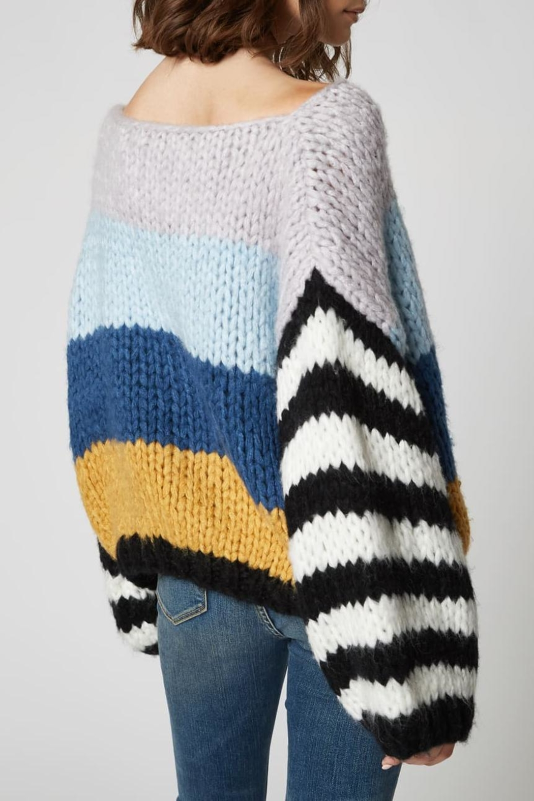 Blank NYC Mixed Signals Sweater - Back Cropped Image