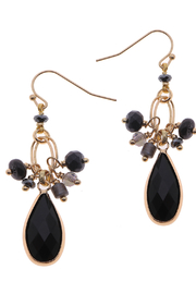 NAKAMOL CHICAGO Mixed stone drop earrings - Product Mini Image