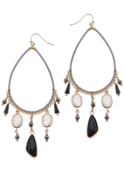NAKAMOL CHICAGO Mixed stone earring - Product Mini Image
