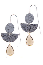 NAKAMOL CHICAGO Mixed stone earrings - Product Mini Image