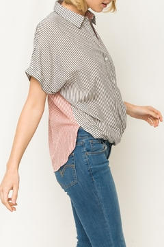 Mystery Mixed Stripe Dolman - Alternate List Image