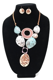 Nadya's Closet Mixed Texture Necklace-Set - Product Mini Image
