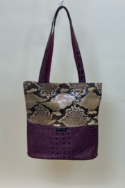 CANDY WOOLLEY MIXED TOTE - Product Mini Image