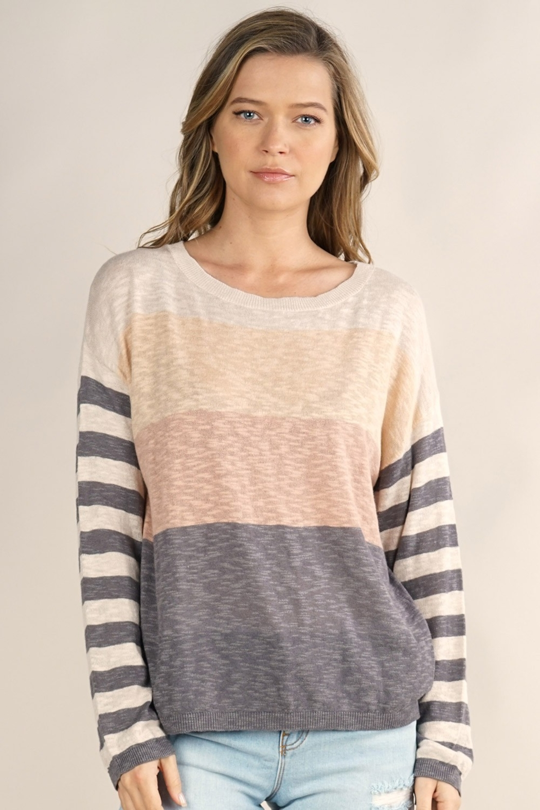 Lovestitch  Mixed Up Sweater - Main Image