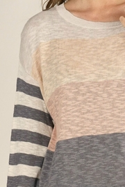 Lovestitch  Mixed Up Sweater - Side cropped