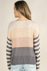 Lovestitch  Mixed Up Sweater - Back cropped