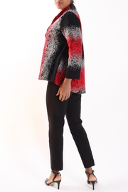 Talk of the Walk Mixed Yarn Jacket - Side cropped
