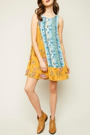 Hayden Los Angeles Mixedprint Tunic Dress - Product Mini Image