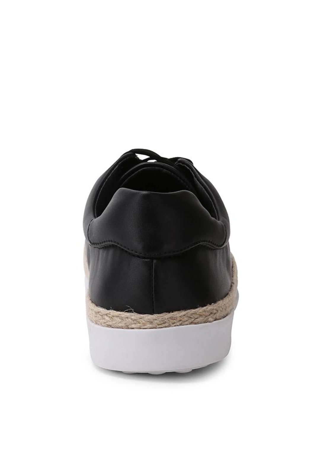 Wanted Mixer Straw Sneaker - Side Cropped Image