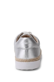 Wanted Mixer Straw Sneaker - Side cropped
