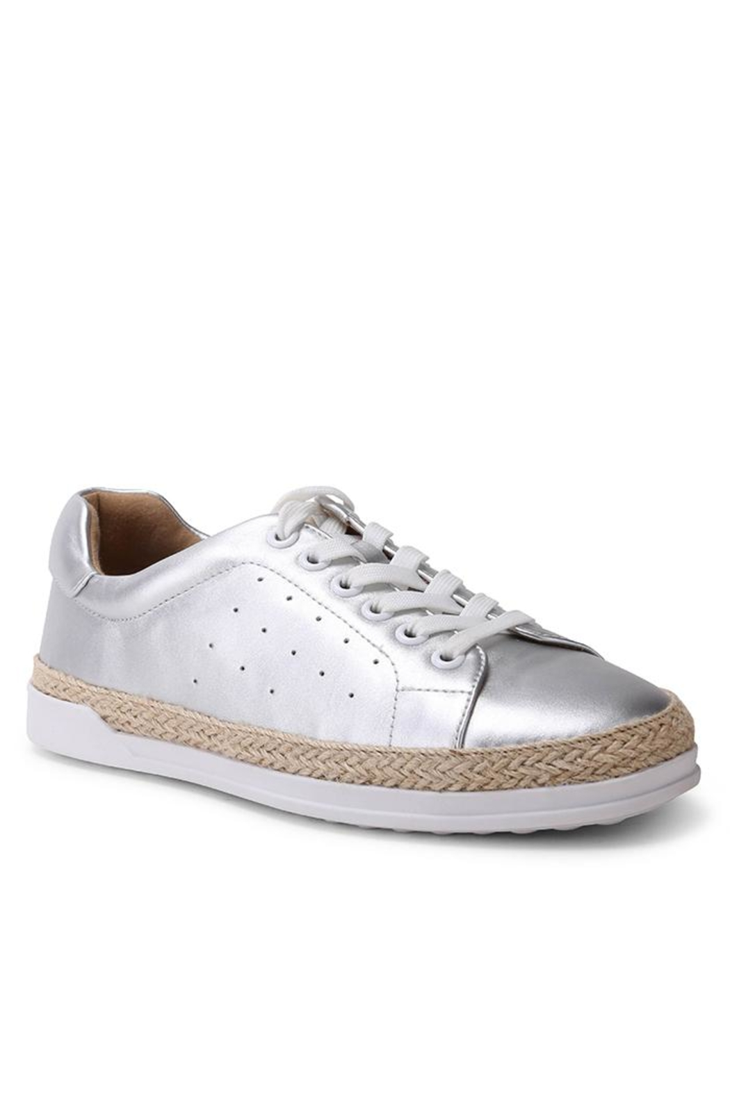 Wanted Mixer Straw Sneaker - Front Cropped Image