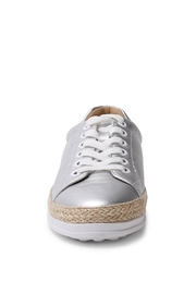 Wanted Mixer Straw Sneaker - Front full body