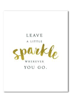 Shoptiques Product: Sparkle Art Print