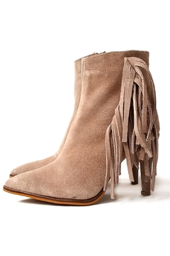 Shoptiques Product: BEIGE JOY BOOTIE