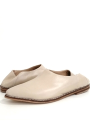 MIYE COLLAZZO Beige Mule Shoes - Side cropped